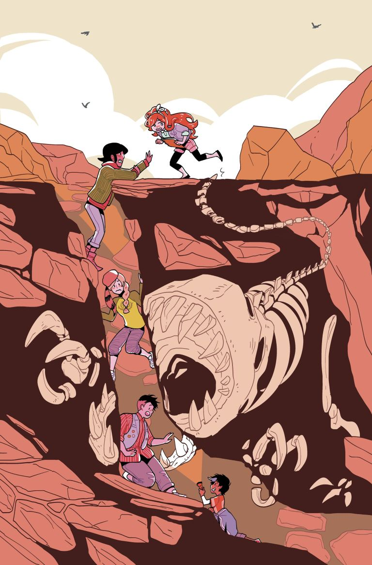 Lumberjanes 2017 Special Faire And Square #1 (Cover A Ru Xu)