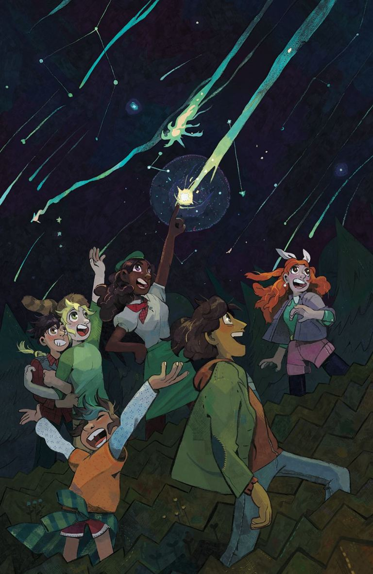 Lumberjanes 2017 Special Faire And Square #1 (Cover B Hailey Thurrott)