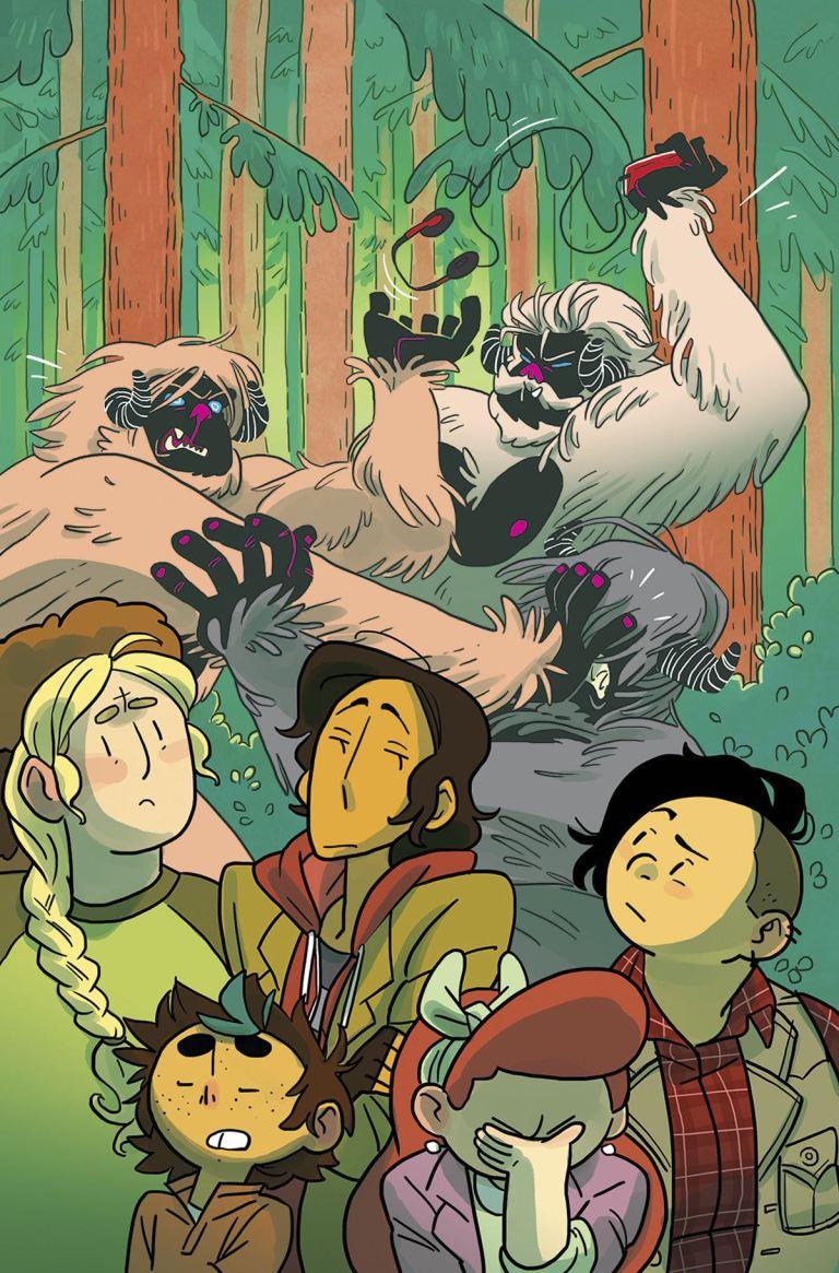 Lumberjanes #34 (Cover A Kat Leyh)