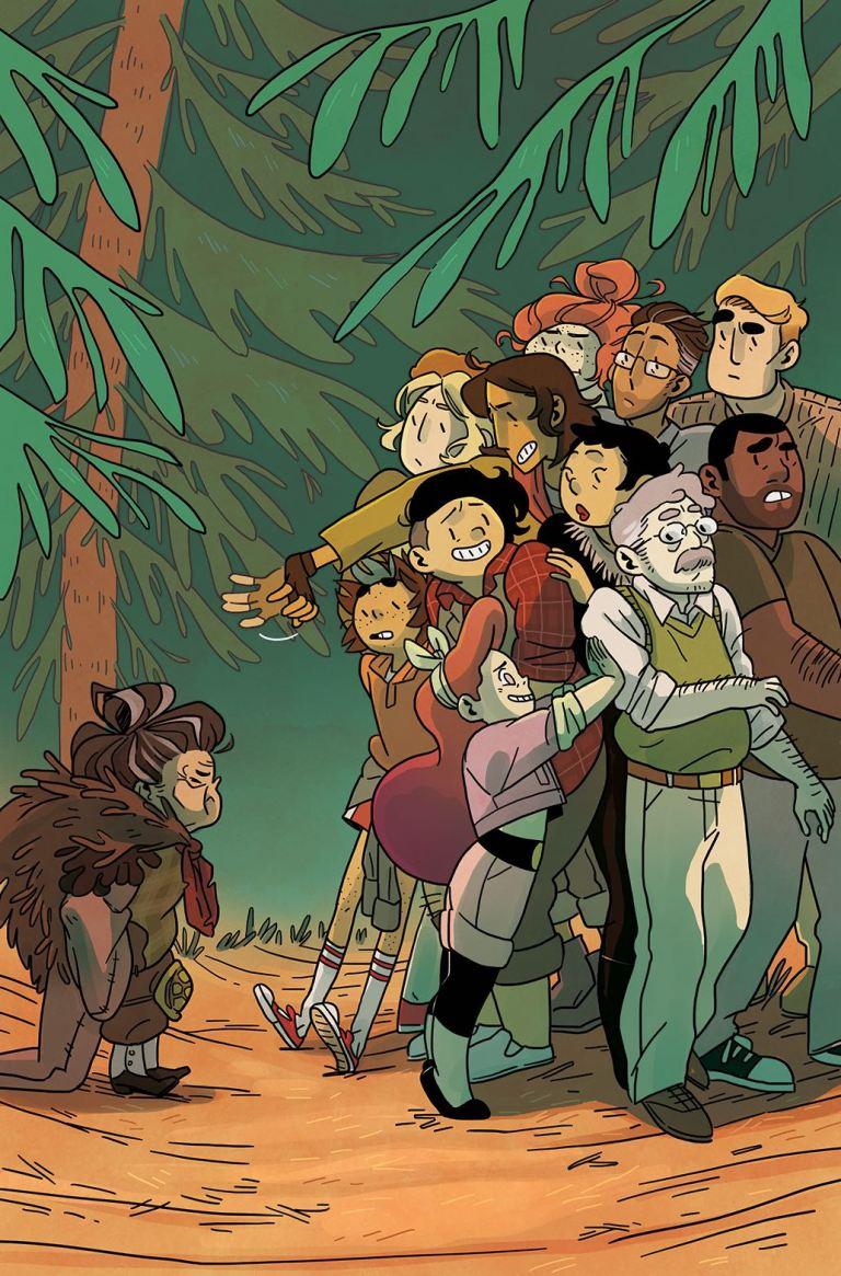Lumberjanes #38 (Cover A Kat Leyh)