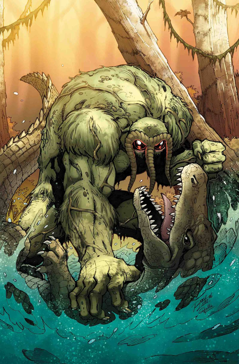 Man-Thing #1 (Ron Lim Man-Thing And The Marvel Universe Variant)