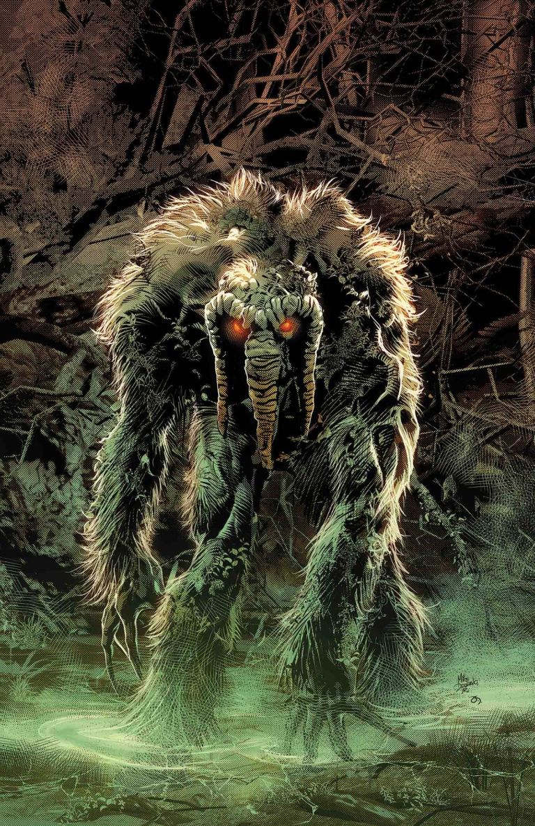 Man-Thing #2 (Mike Deodato Variant Cover)