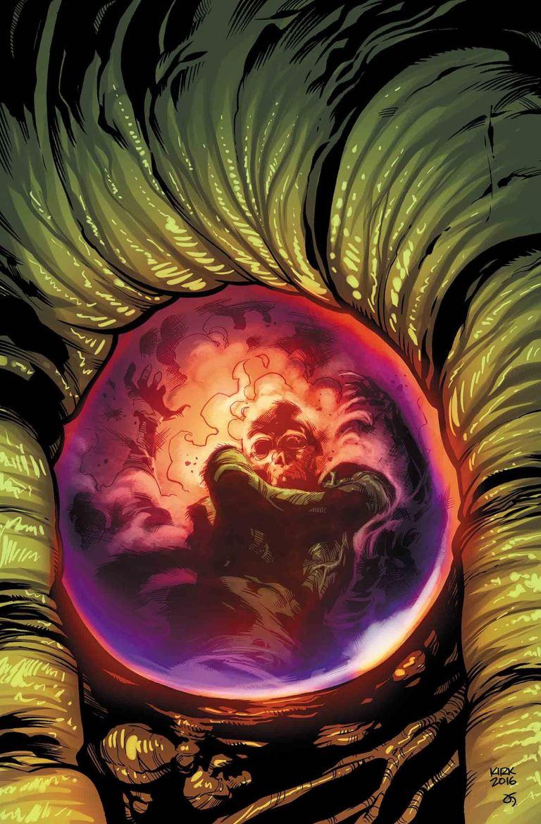Man-Thing #3 (Cover B Leonard Kirk)