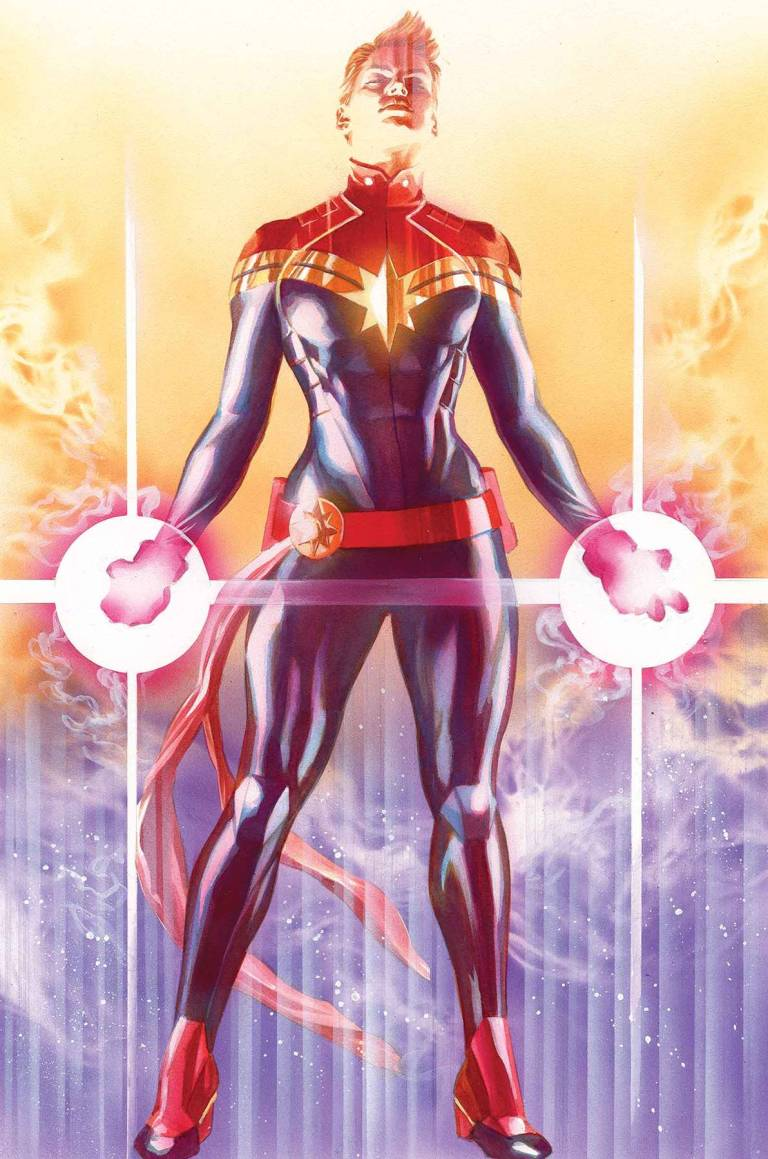 Mighty Captain Marvel #1 (Alex Ross Variant Cover)