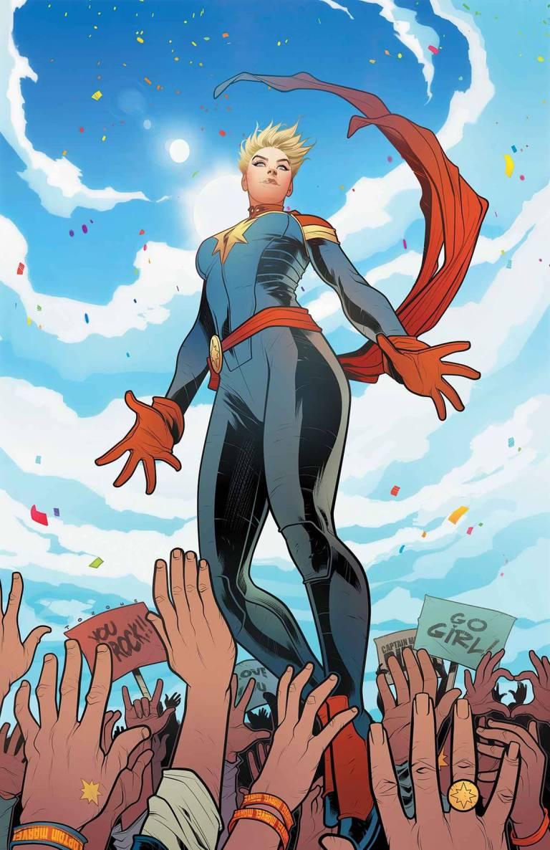 Mighty Captain Marvel #1 (Elizabeth Torque Regular Cover)
