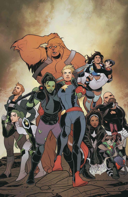 Mighty Captain Marvel #5 (Elizabeth Torque Cover)