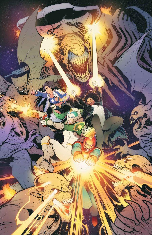 Mighty Captain Marvel #6 (Cover A Elizabeth Torque)
