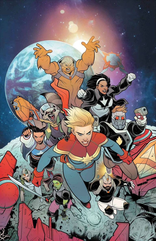 Mighty Captain Marvel #7 (Elizabeth Torque Cover)
