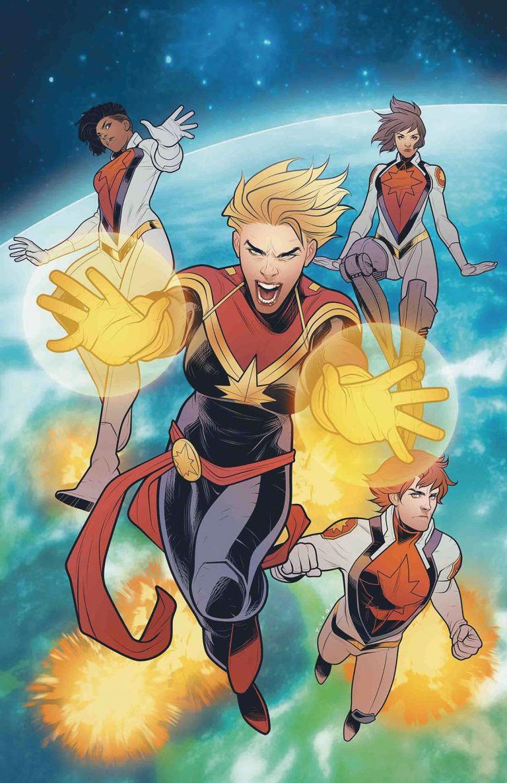 Mighty Captain Marvel #8 (Cover A Elizabeth Torque)