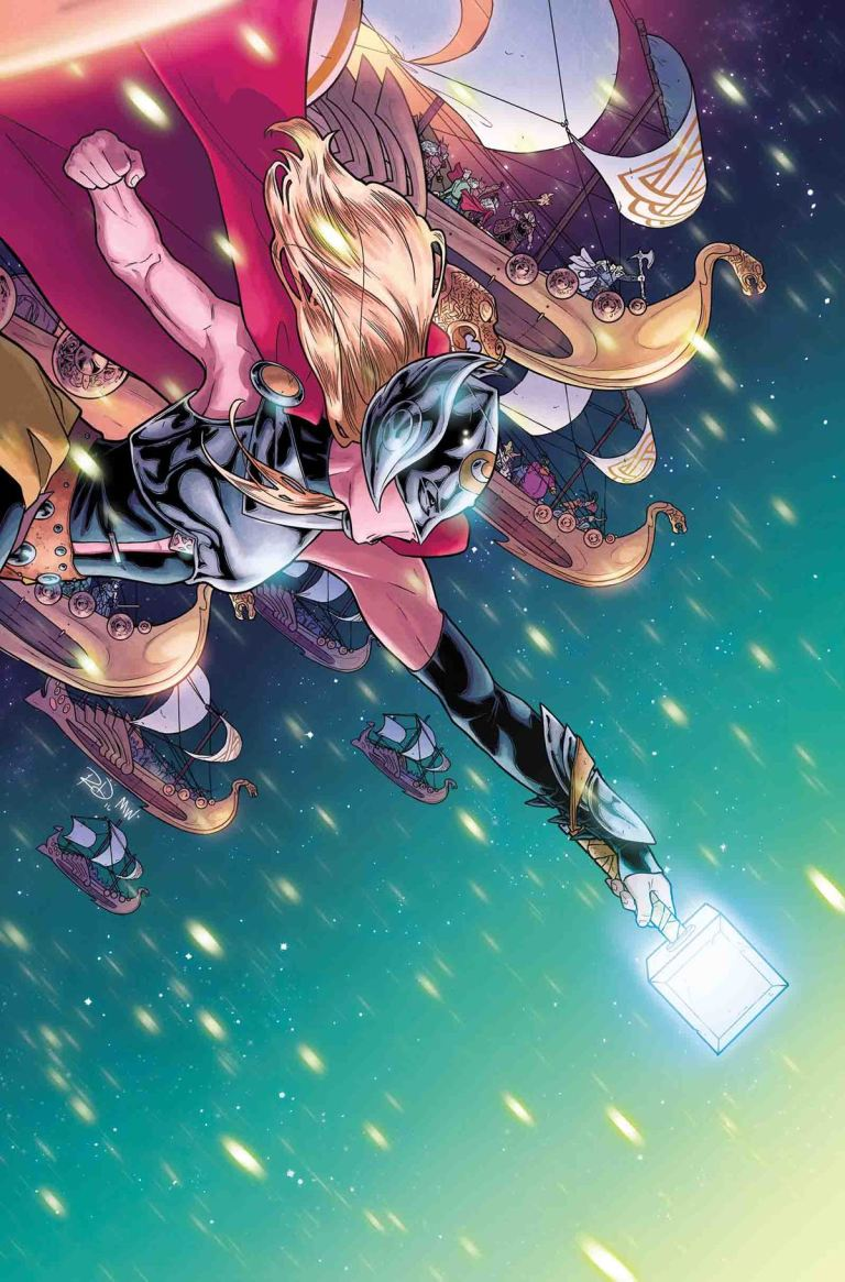 Mighty Thor #17 (Russell Dauterman Cover)