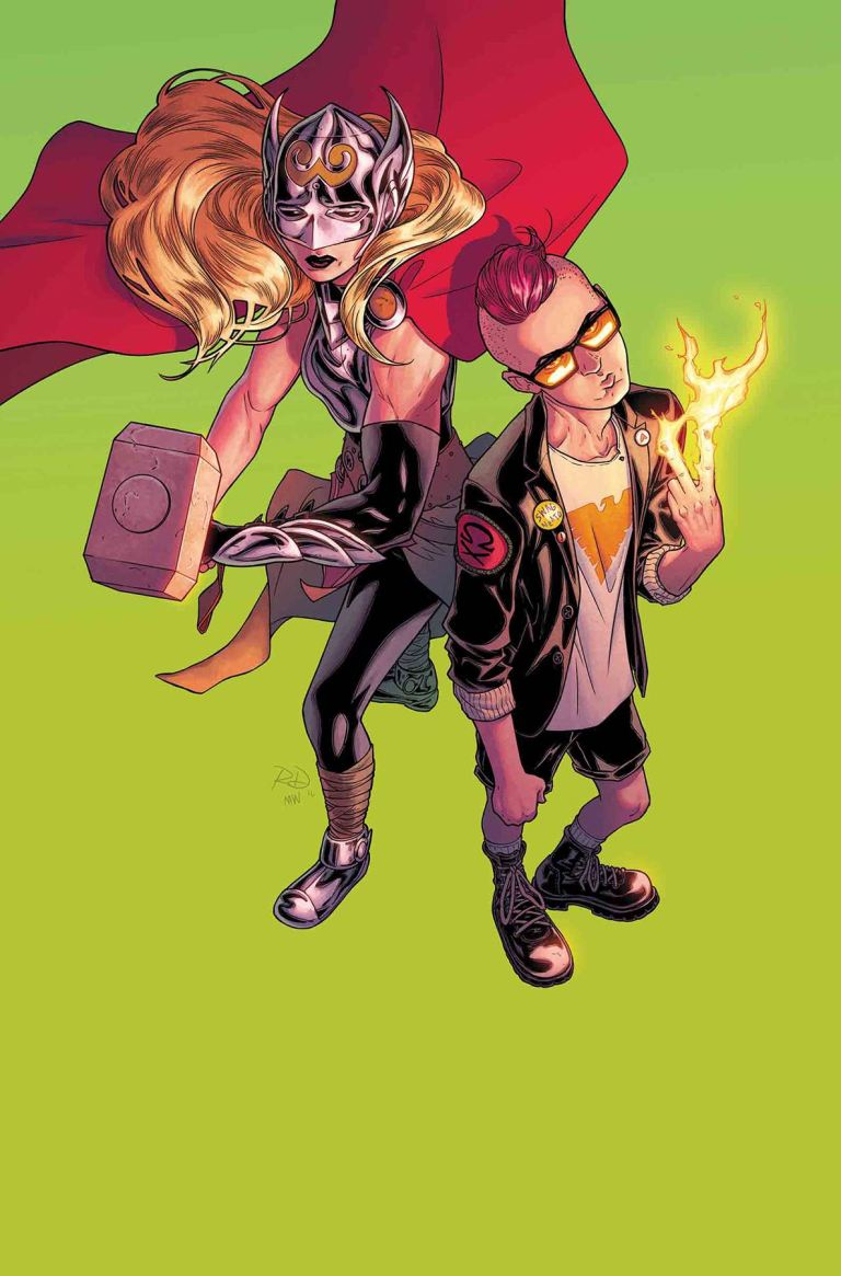 Mighty Thor #18 (Cover A Russell Dauterman)