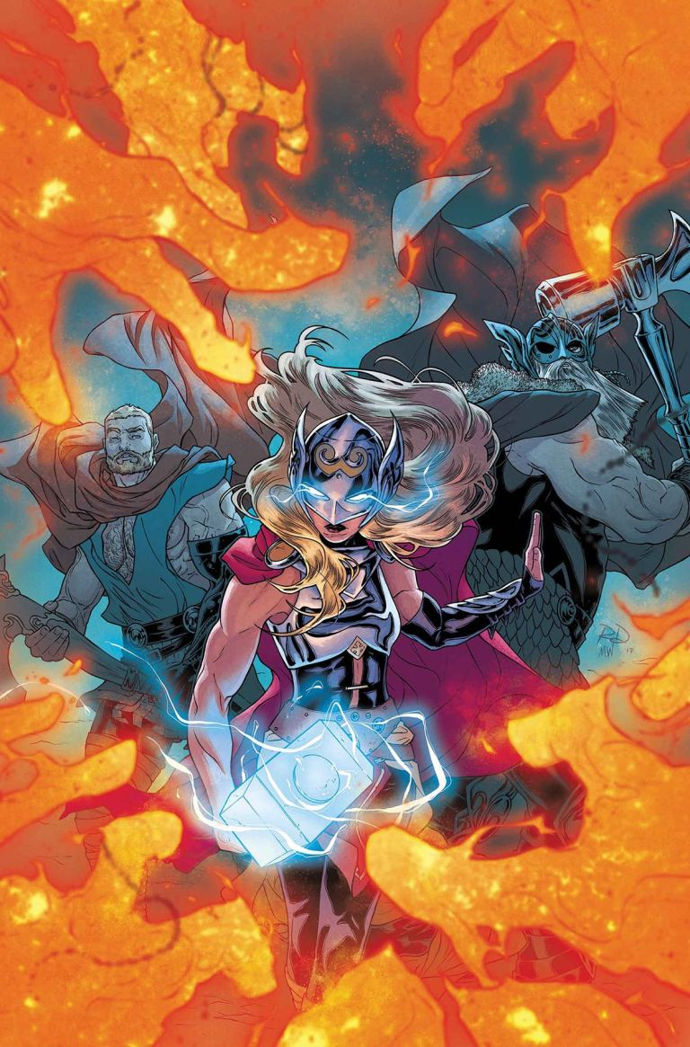 Mighty Thor #21 (Cover A Russell Dauterman)