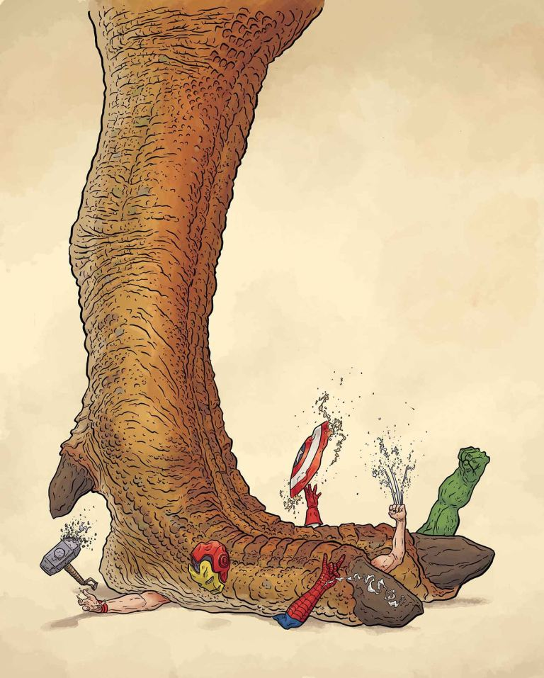 Monsters Unleashed #1 (Geof Darrow Teaser Variant Cover)