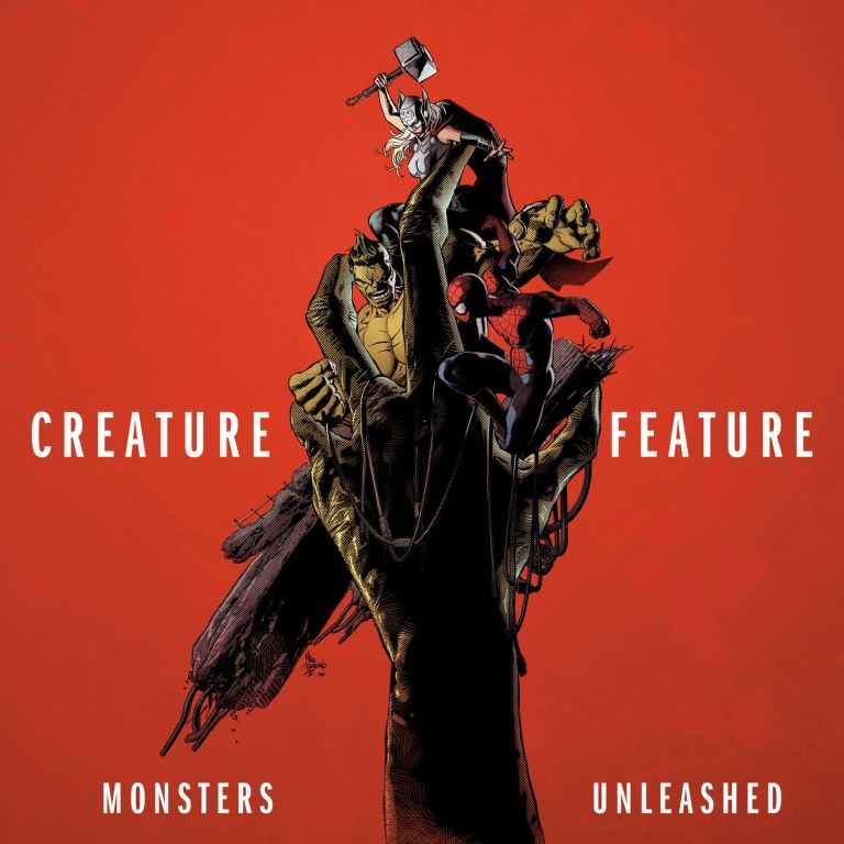 Monsters Unleashed #1 (Mike Deodato Hip-Hop Variant Cover)
