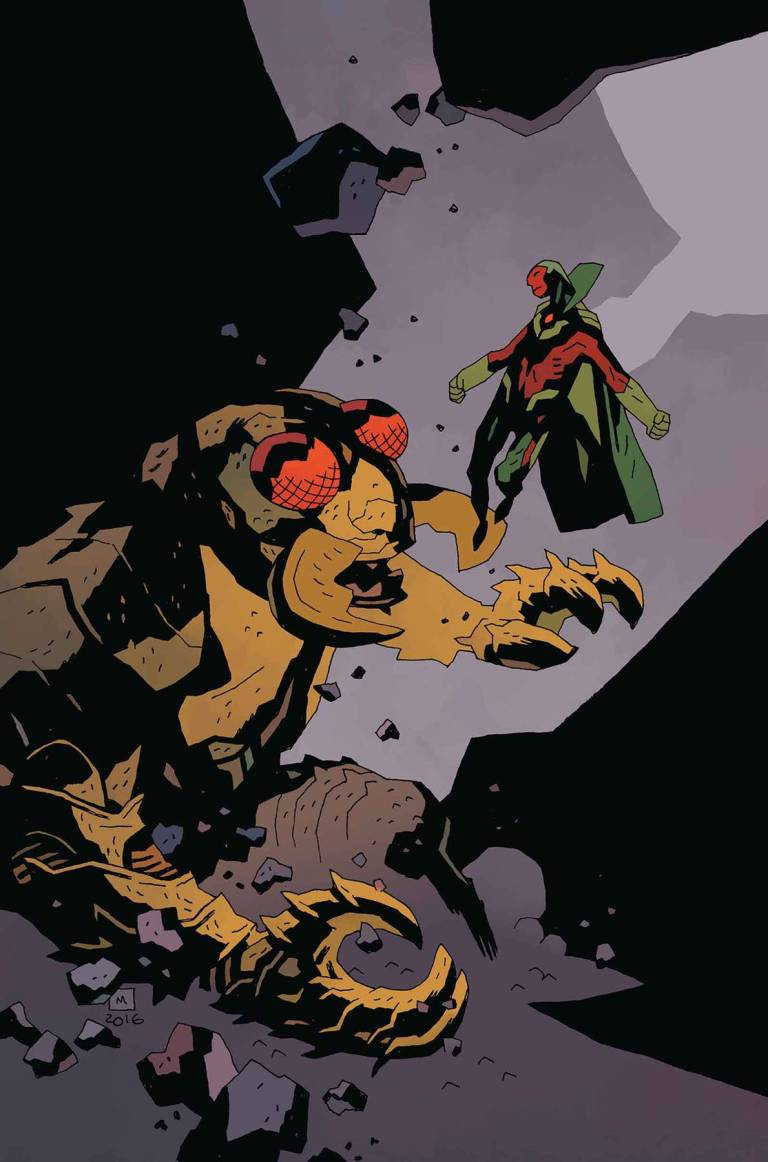 Monsters Unleashed #1 (Mike Mignola Classic Monsters Vs Marvel Hero Variant Cover)