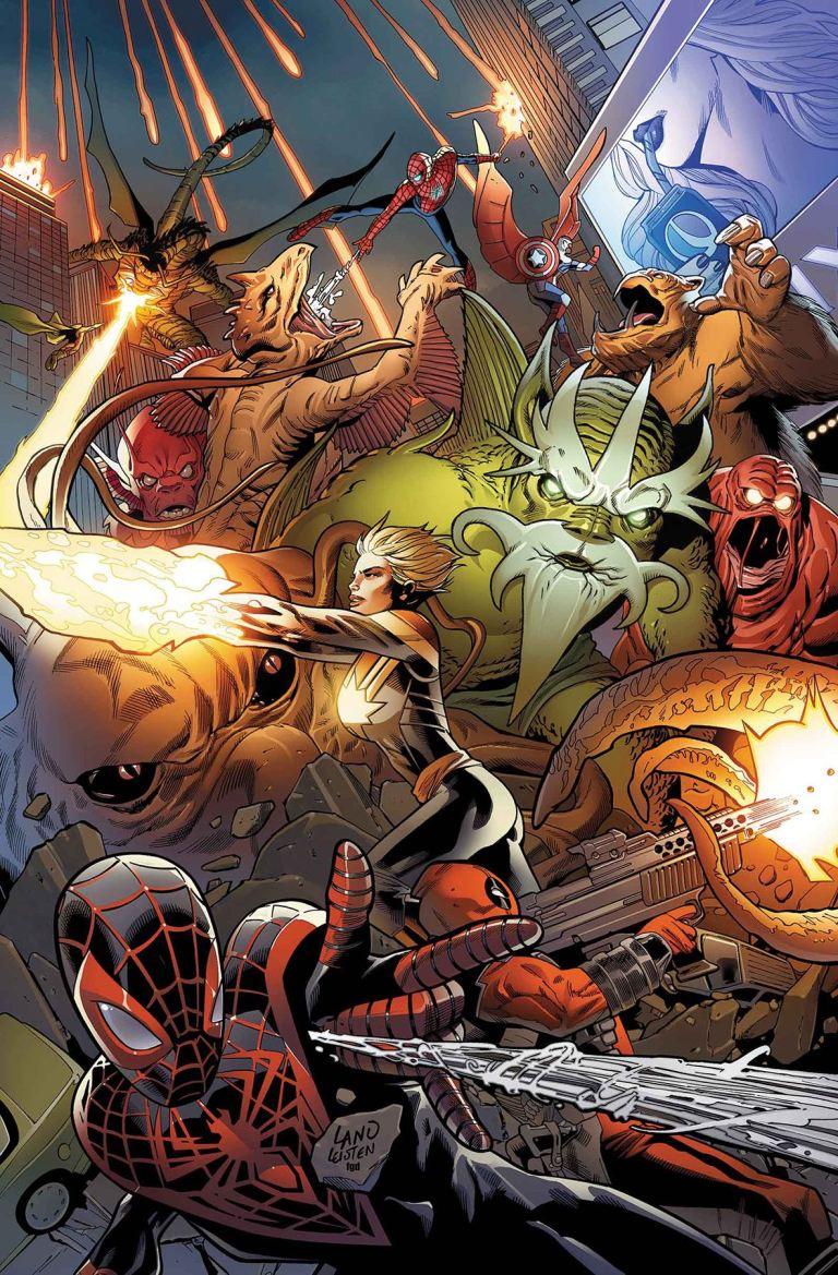 Monsters Unleashed #2 (Greg Land Regular Cover)