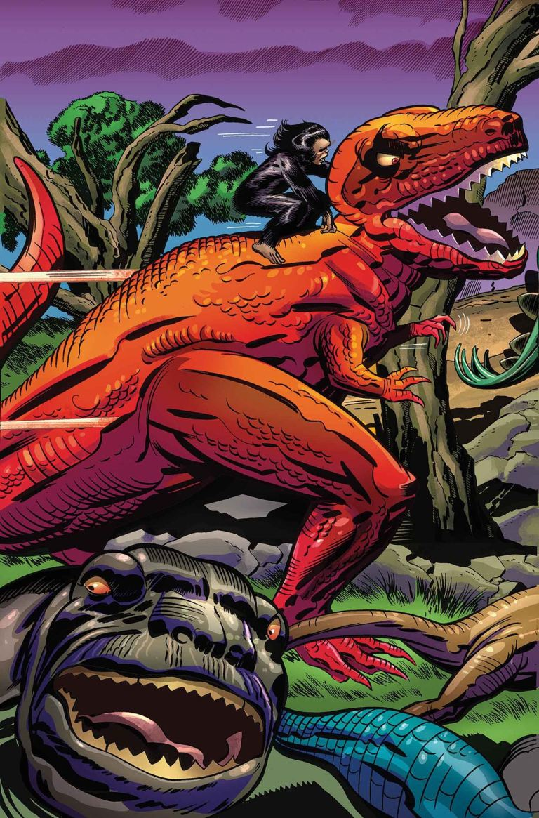 Monsters Unleashed #2 (Jack Kirby 100th Anniversary Variant Cover)