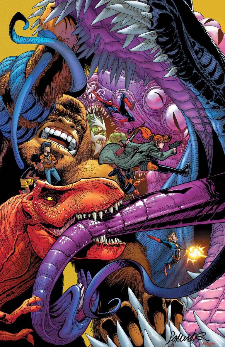 Monsters Unleashed #4 (Salvador Larroca Regular Cover)