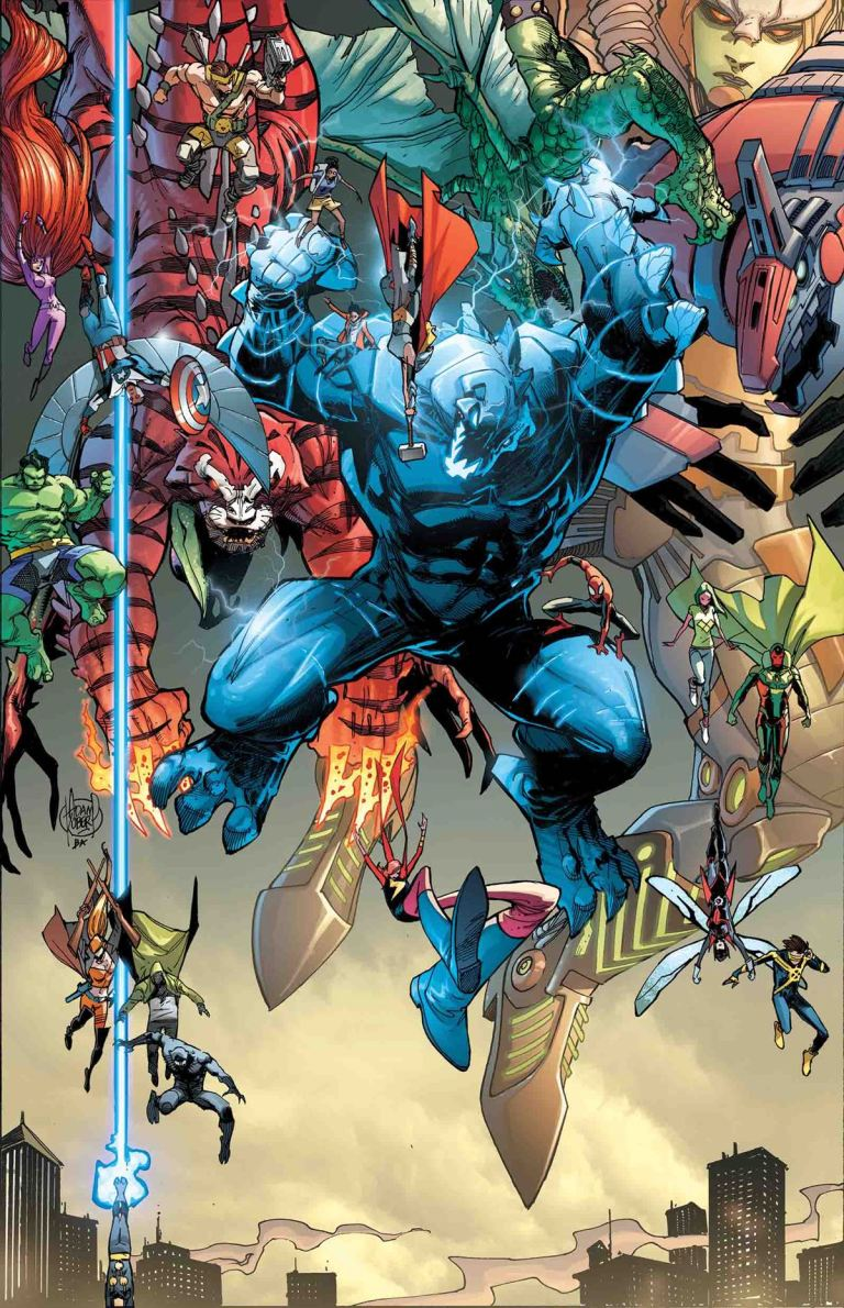 Monsters Unleashed #5 (Adam Kubert Regular Cover)