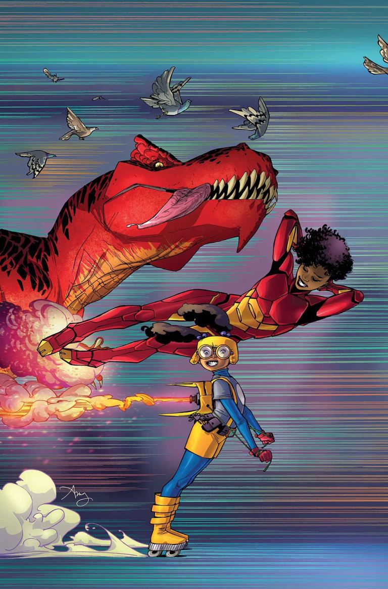 Moon Girl and Devil Dinosaur #15 (Amy Reeder Cover)