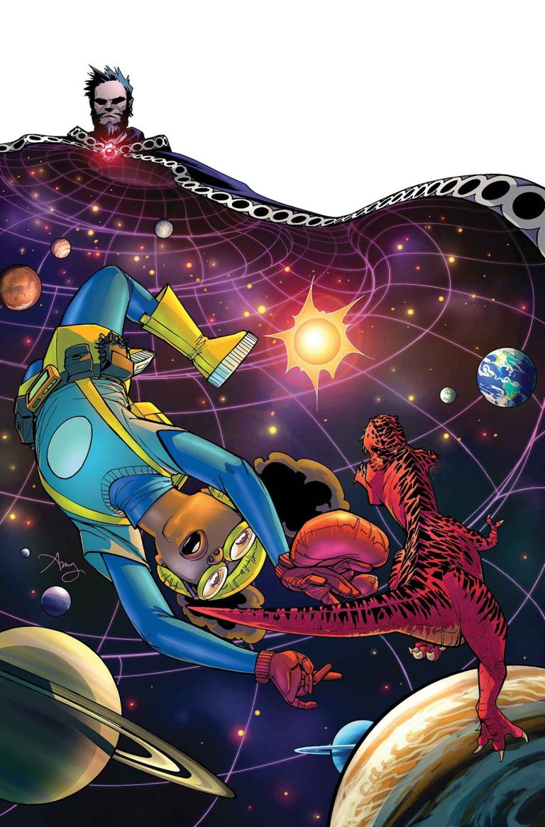 Moon Girl and Devil Dinosaur #16 (Natacha Bustos Cover)