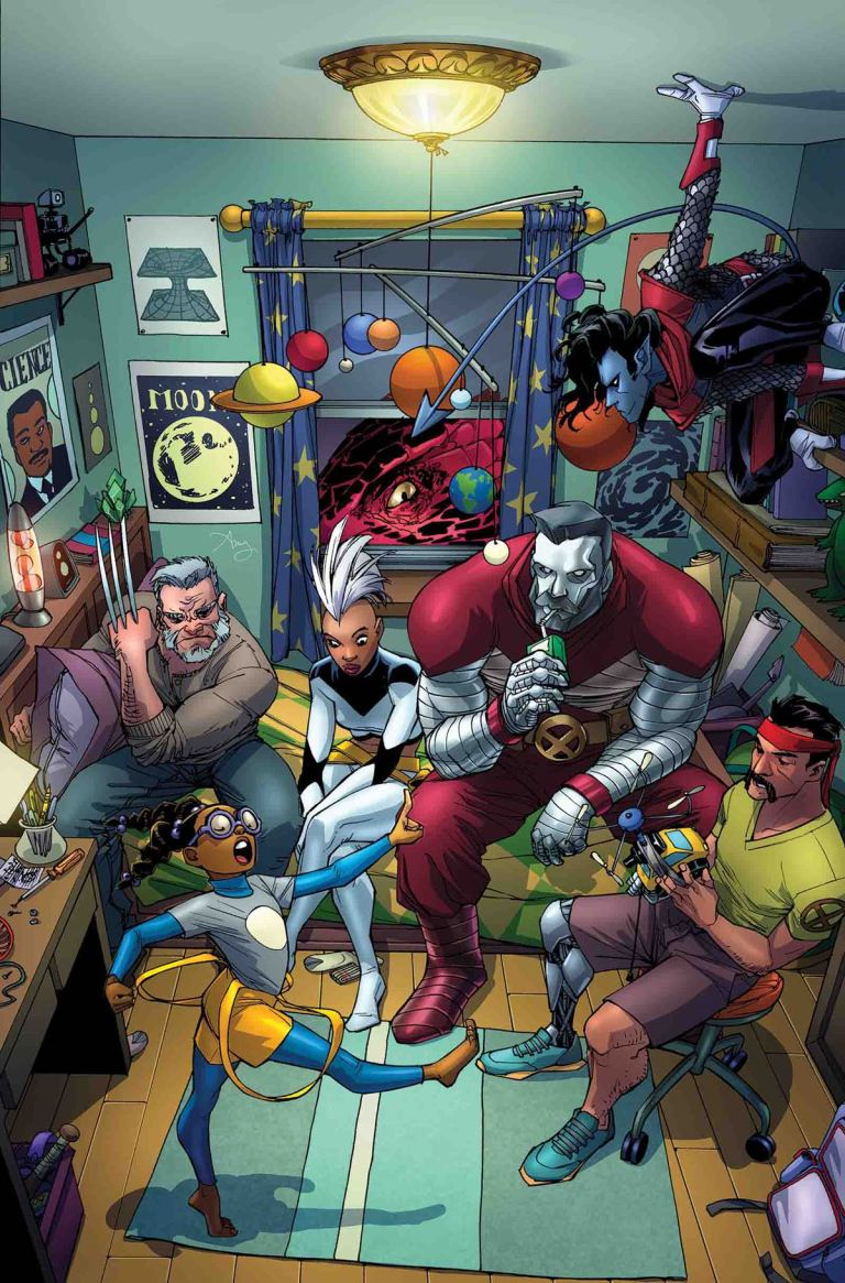 Moon Girl and Devil Dinosaur #17 (Amy Reeder Cover)