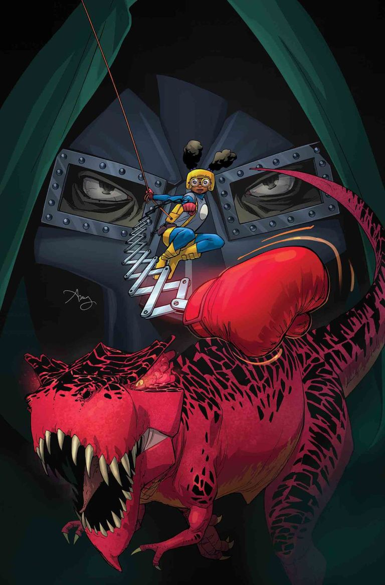 Moon Girl and Devil Dinosaur #18 (Amy Reeder Cover)