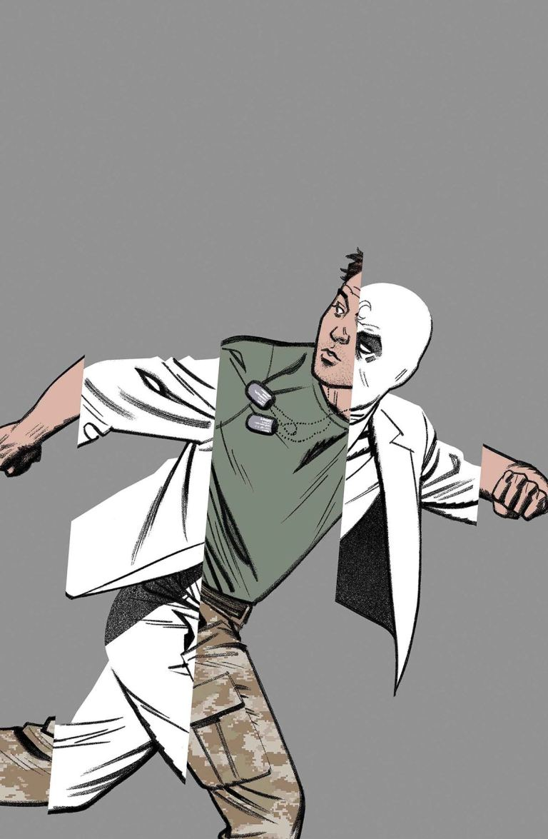 Moon Knight #11 (Greg Smallwood Cover)