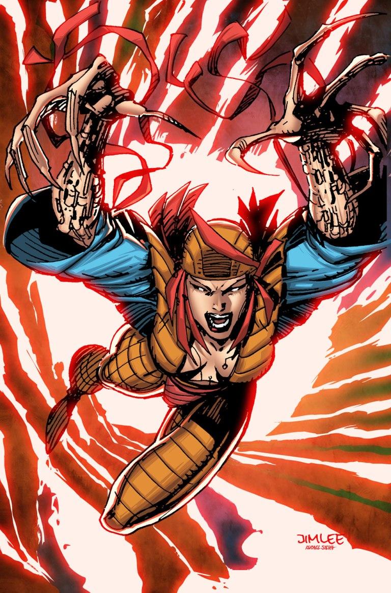 Ms. Marvel #20 (Cover B Jim Lee X-Men Trading Card Variant)
