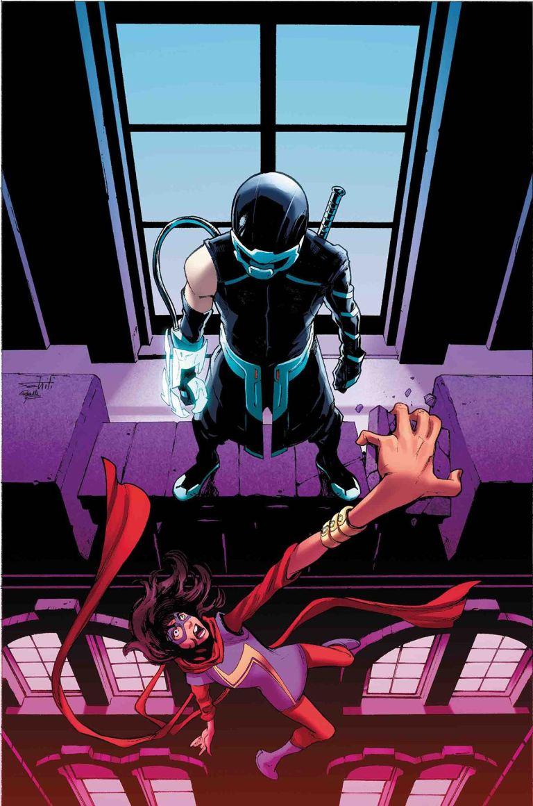 Ms. Marvel #22 (Valerio Schiti Cover)