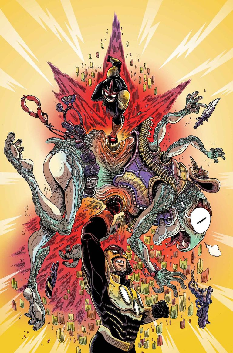 Nova #3 (James Stokoe Variant Cover)