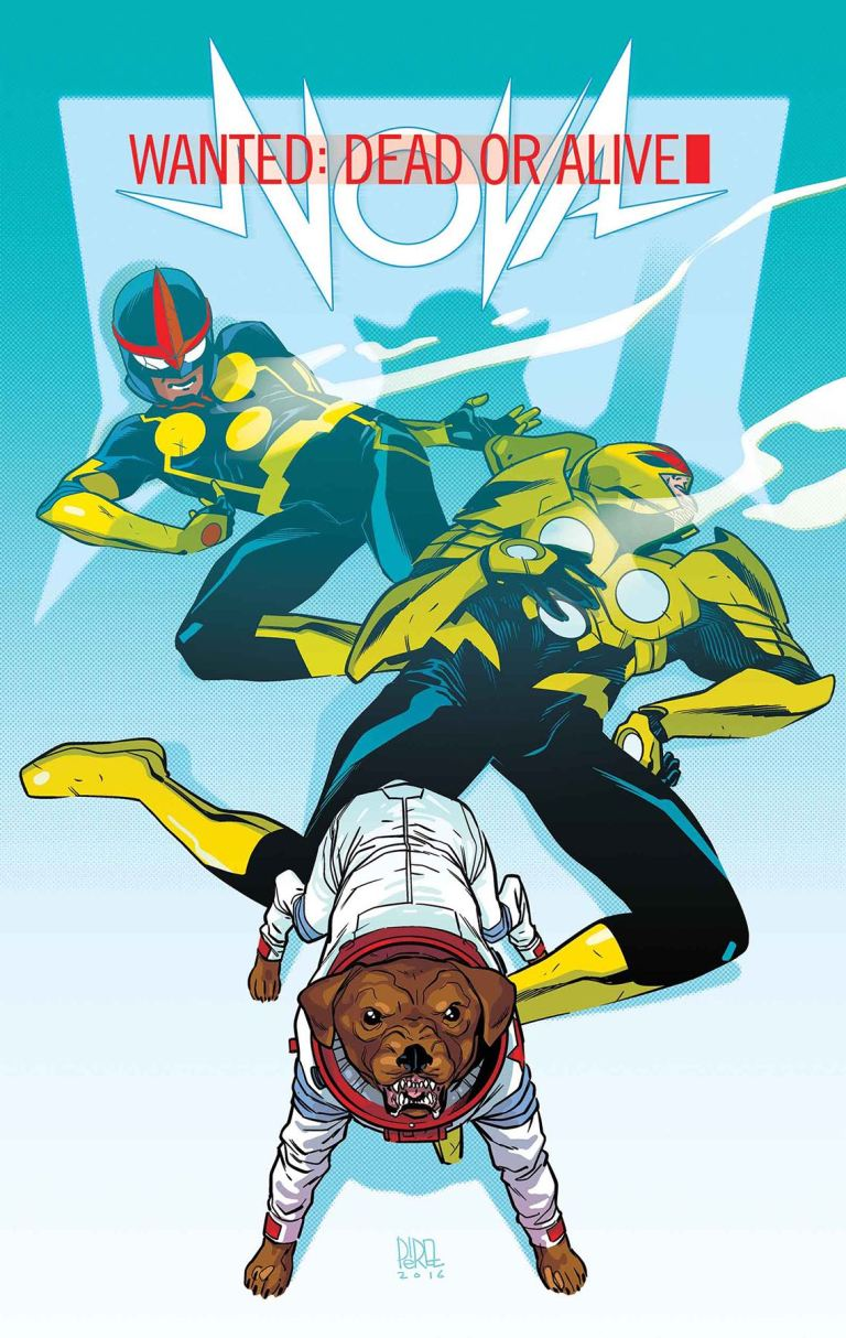 Nova #3 (Ramon Perez Regular Cover)