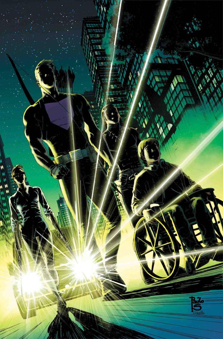 Occupy Avengers #5 (Paulo Siqueira Regular Cover)
