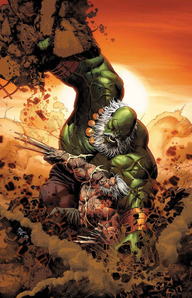Old Man Logan #25 (Cover A Mike Deodato Jr.)