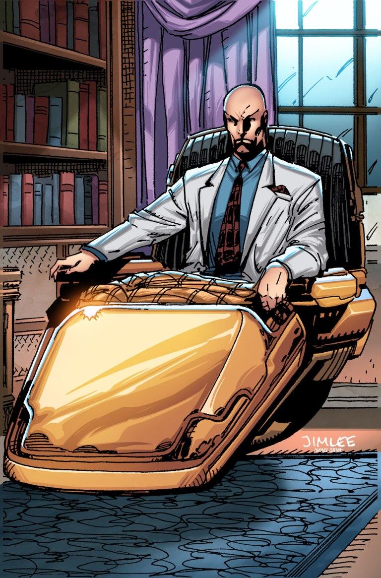 Old Man Logan #26 (Cover B Jim Lee X-Men Trading Card Variant)