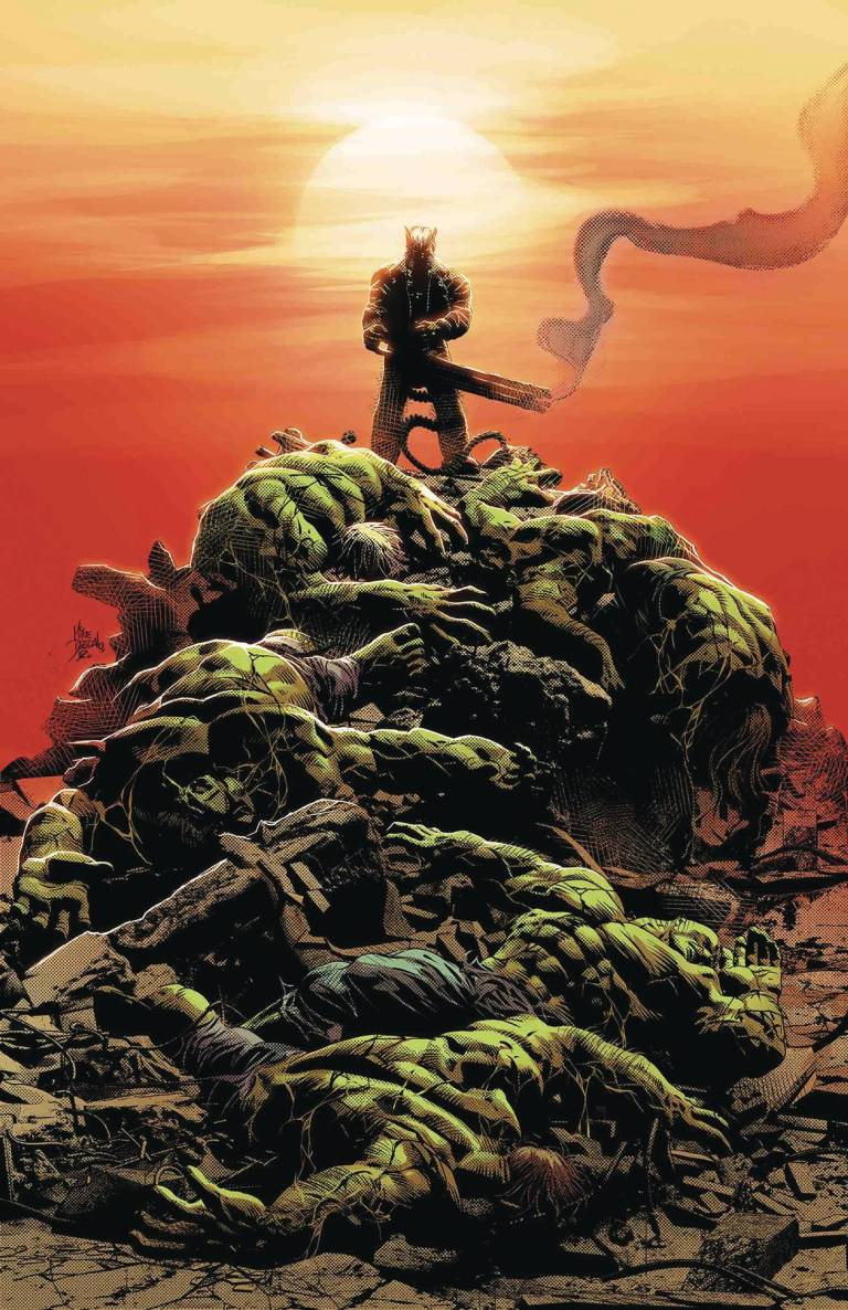 Old Man Logan #27 (Mike Deodato Jr. Cover)