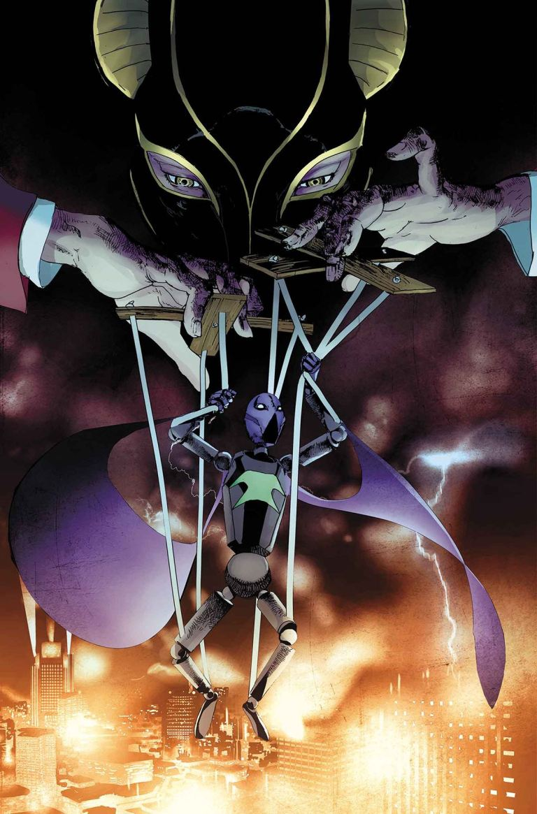 Prowler #4 (Travel Foreman Cover)