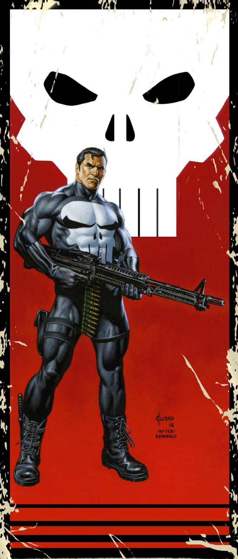 Punisher #10 (Joe Jusko Corner Box Variant Cover)