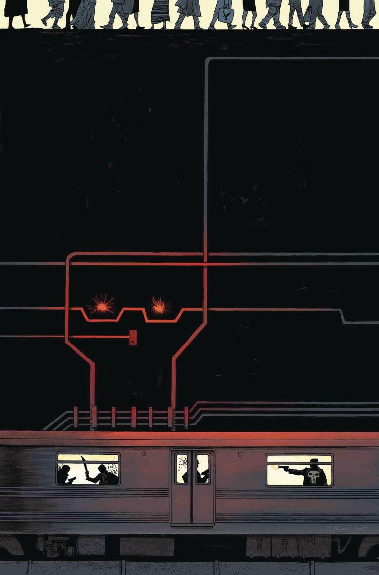 Punisher #15 (Declan Shalvey Cover)