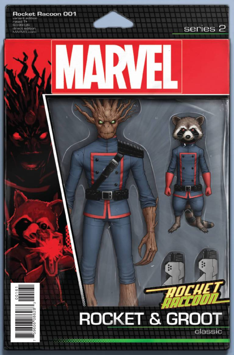 Rocket Raccoon #1 (John Tyler Christopher Action Figure Variant Cover)