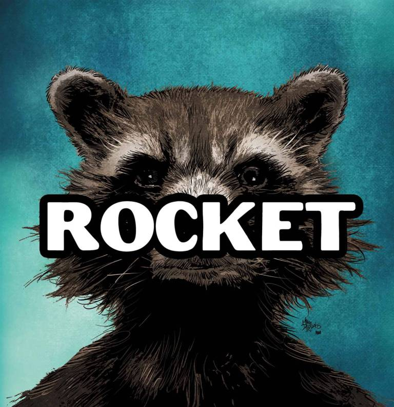 Rocket Raccoon #1 (Mike Deodato Hip-Hop Variant Cover)