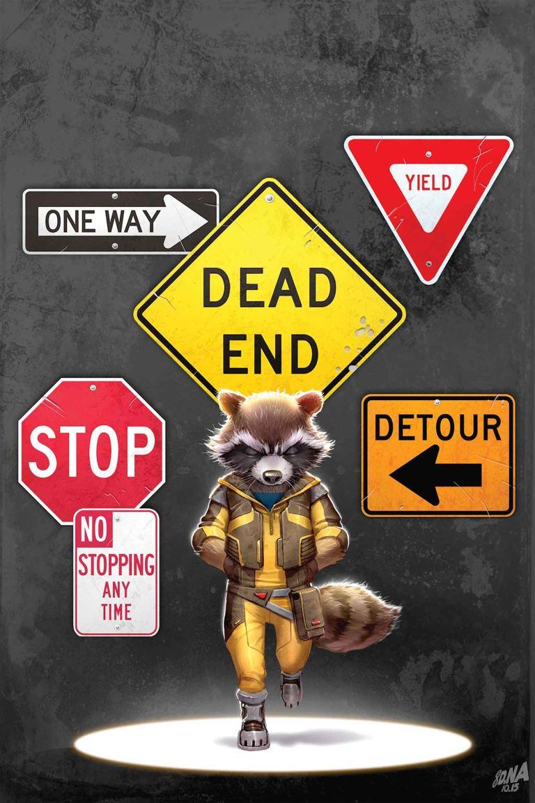 Rocket Raccoon #2 (David Nakayama Regular Cover)