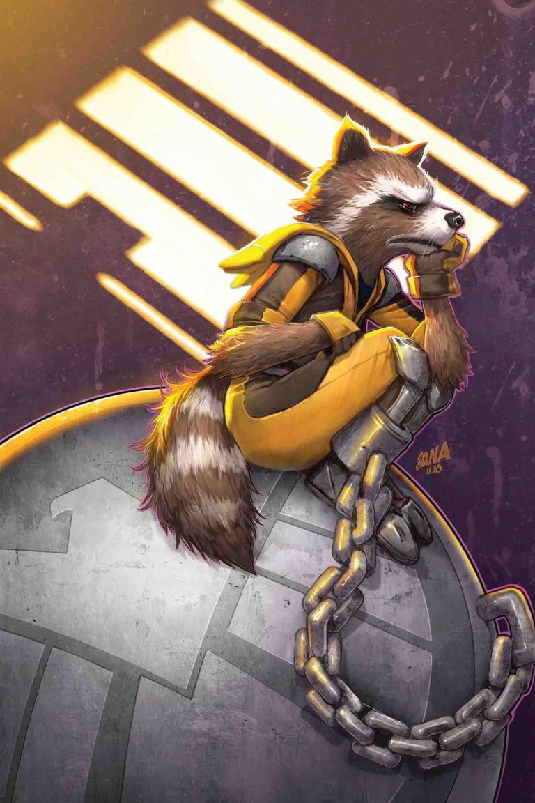 Rocket Raccoon #4 (David Nakayama Cover)