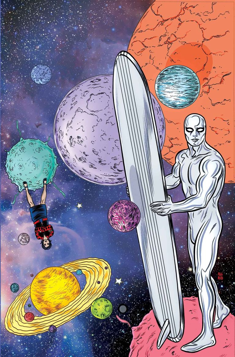 Silver Surfer #10 (Michael Allred Cover)