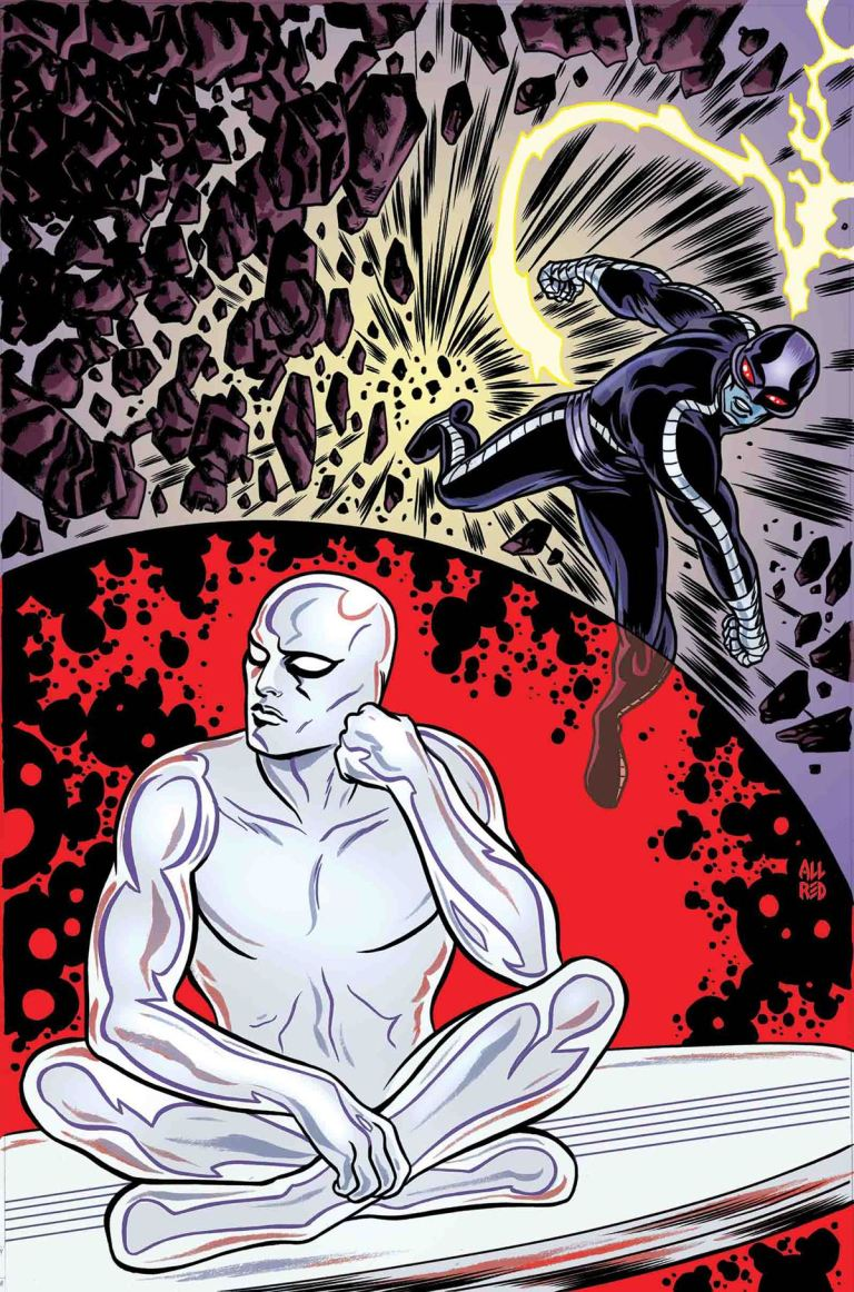 Silver Surfer #11 (Michael Allred Cover)