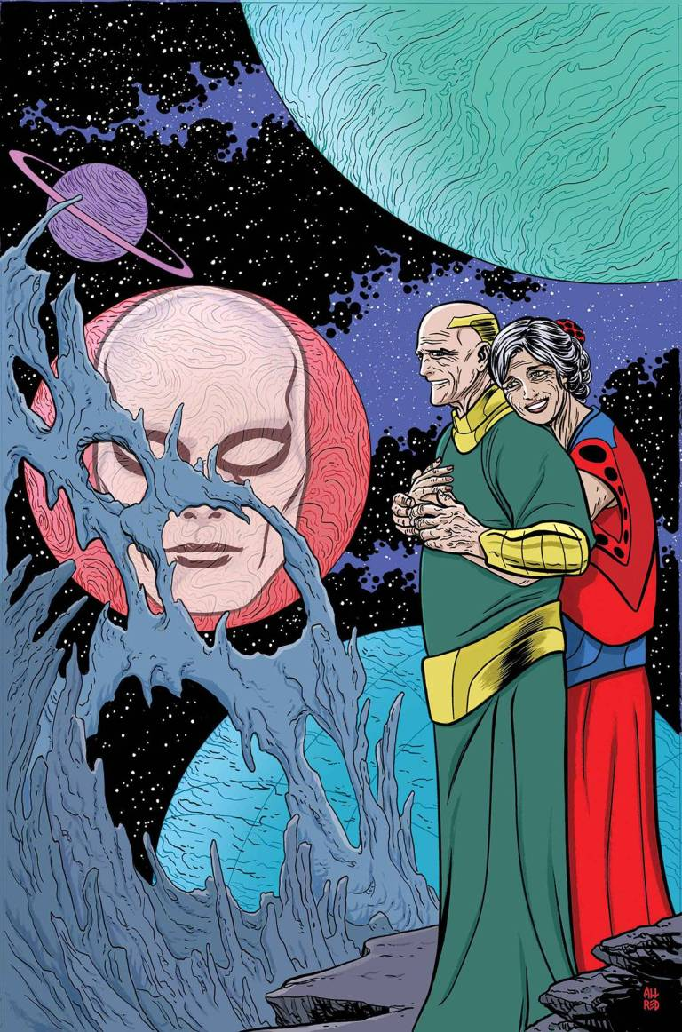 Silver Surfer #13 (Mike Allred Cover)