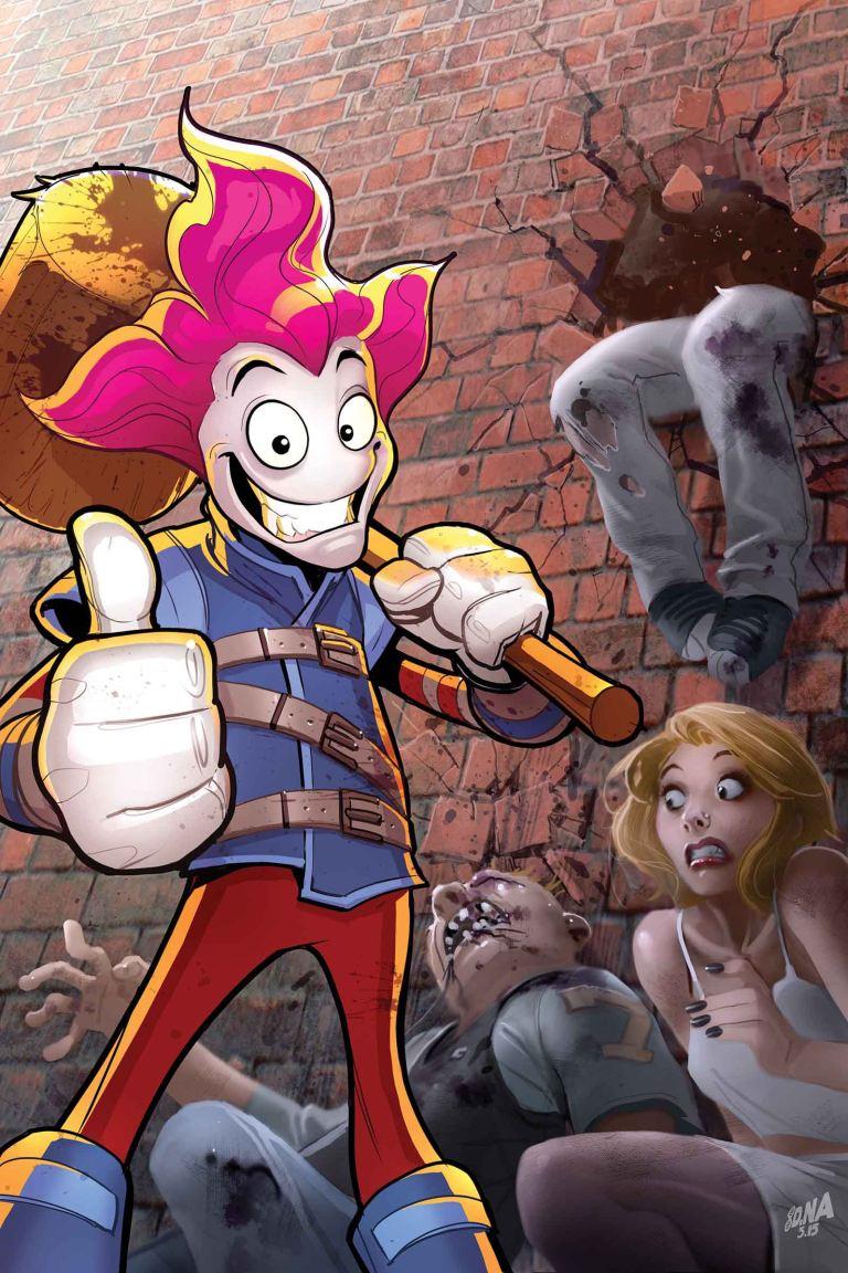 Slapstick #1 (David Nakayama Regular Cover)
