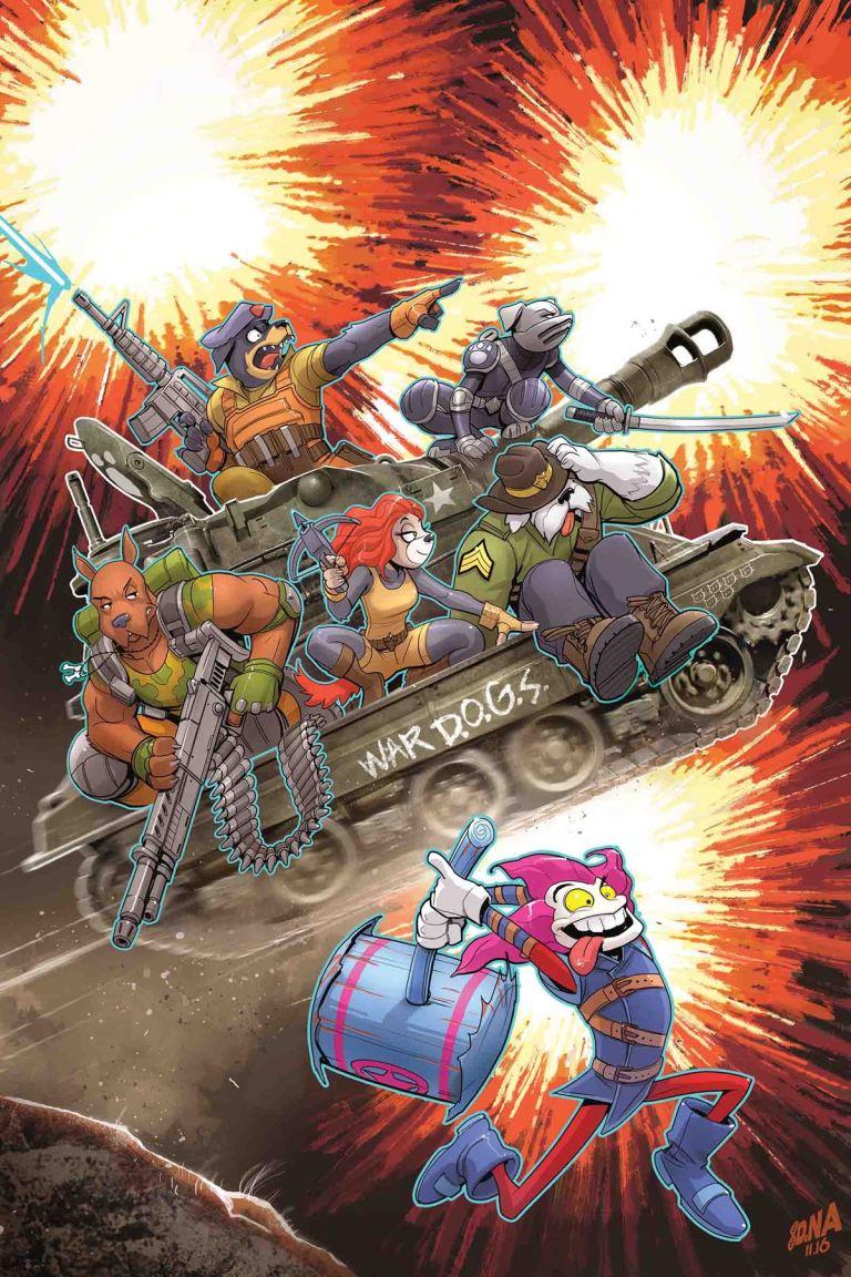 Slapstick! #4 (David Nakayama Cover)