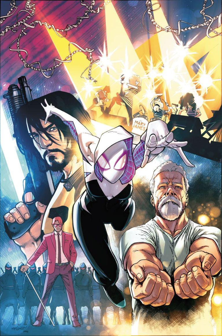 Spider-Gwen #16 (Cover C David Marquez Story Thus Far Variant)