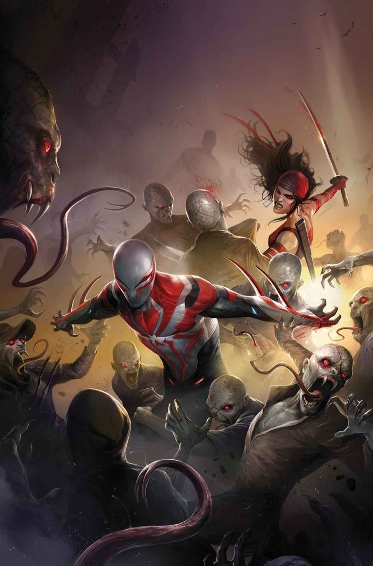 Spider-Man 2099 #19 (Francesco Mattina Cover)